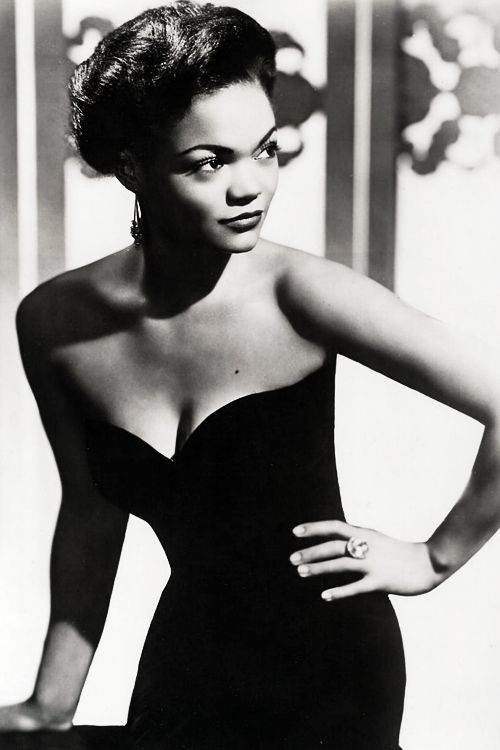 Even though Eartha Kitt was a singer rather than a movie star - she sure had the glamour!