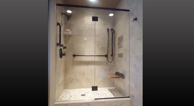 Grab bar in shower rosalie pinterest
