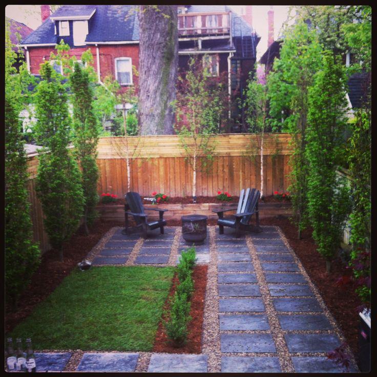 city backyard gardeny pinterest