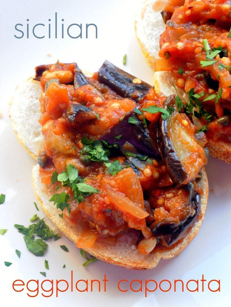 Eggplant caponata | Eggplant recipes | Pinterest