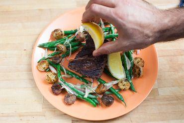 shallot port demi sauce and hanger steak with shallots hanger steak ...