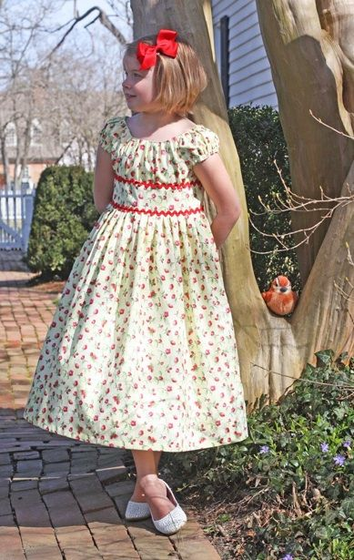 Olivia Dress Pattern...love this for Grace