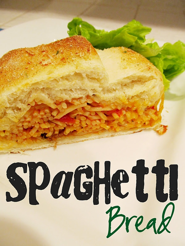Lovely Little Snippets: Spaghetti Bread | Delish.... | Pinterest