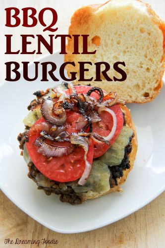 BBQ Lentil Burgers | BBQ Veg's | Pinterest