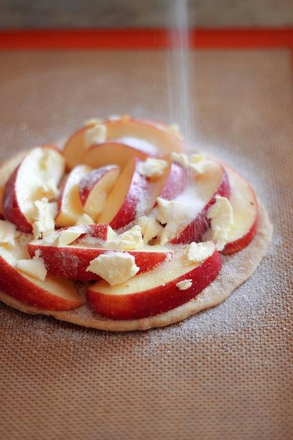 Fennel Pollen Apple Roti Tart by magpiesrecipes, via Flickr