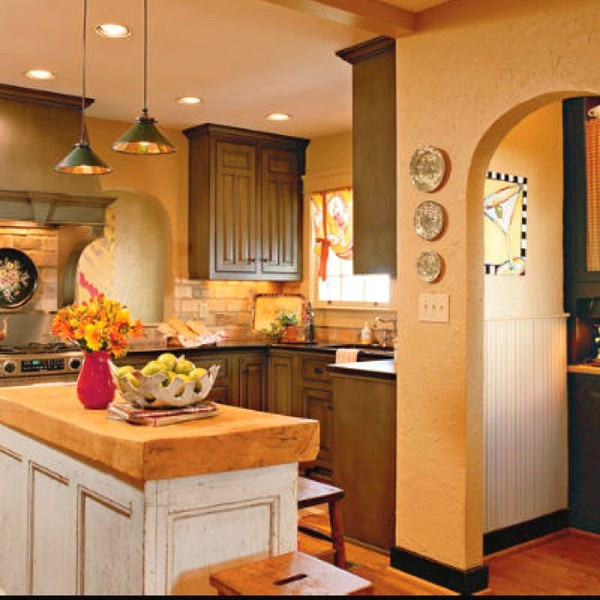 Love Cottage Style Kitchens Style Pinterest