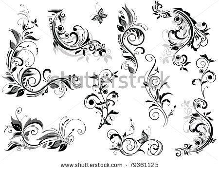 Multiple Flower Drawings Flower Designs For Drawing
