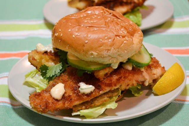 Crispy Beer Battered Fish Sandwich Recipes — Dishmaps