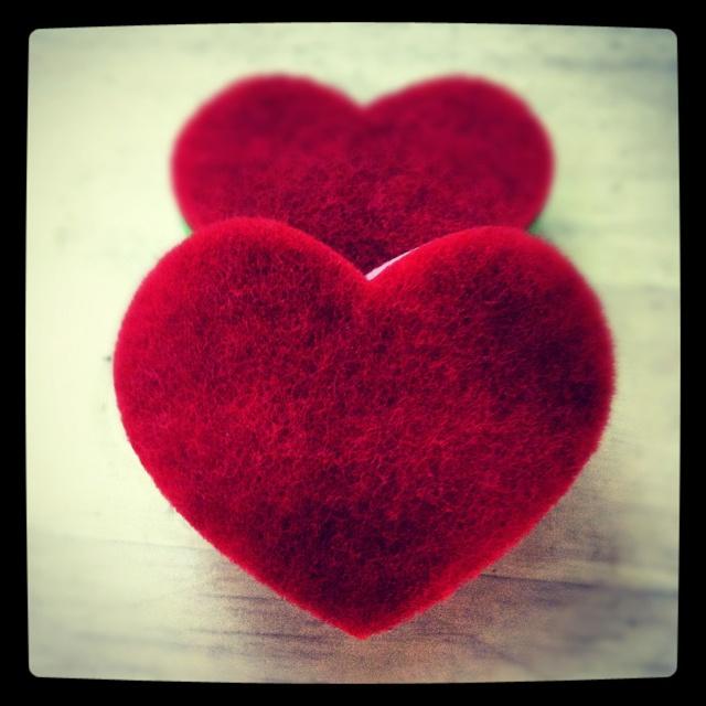 Heart sponge <3