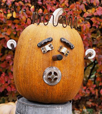 fun junk pumpkin