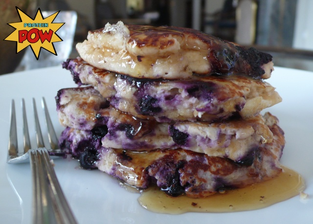 = PROTEIN POW(D)ER !: Apple, Strawberry, and Blueberry Protein Pancakes