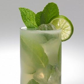 yerba buena - essentially a tequila mojito, spiced up with ginger beer ...
