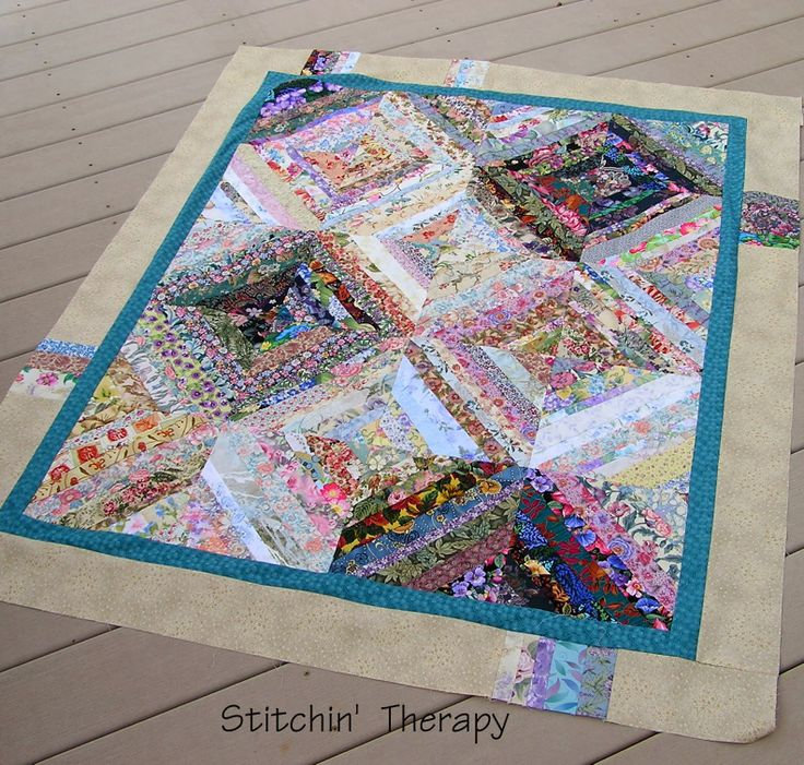 Stitchin Therapy: Simple borders QUILT Pinterest