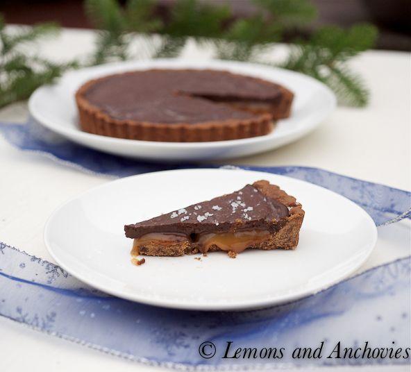 Chocolate Caramel Tart | Food | Pinterest