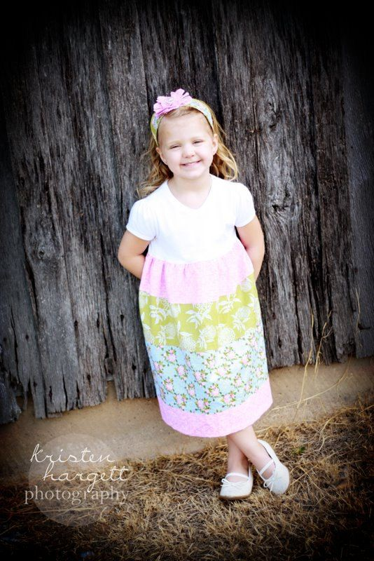 Tiered Dress PDF PATTERN