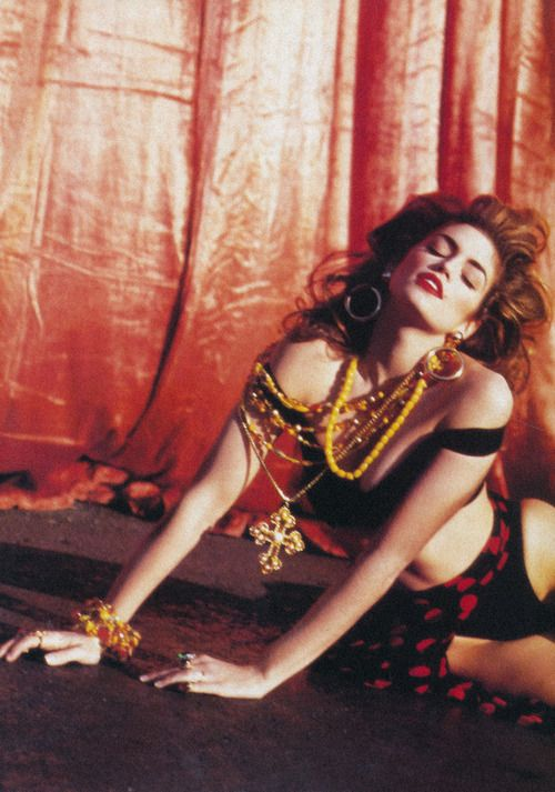 Modern dress 80s - Italia Cindy Crawford By Michel Comte June 1992 The Modern Duchess