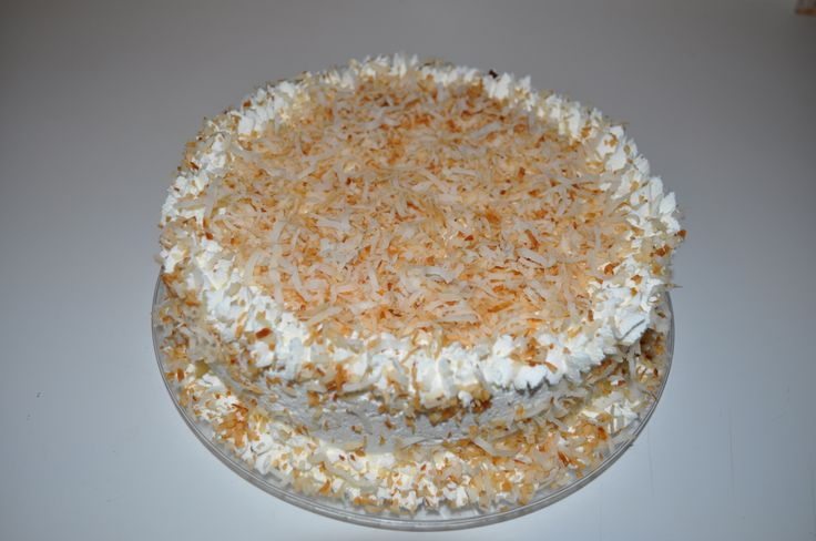 coconut rum cake | Made by me | Pinterest