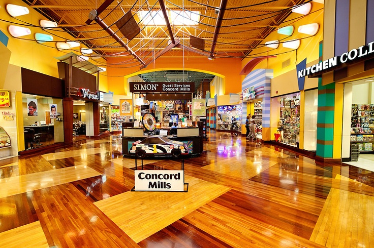 Mills Mall, a 1.4 million-square-foot mall located in Concord, NC ...