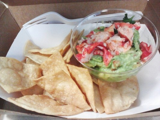 Lobster guacamole | World's Most Beautiful Recipes | Pinterest
