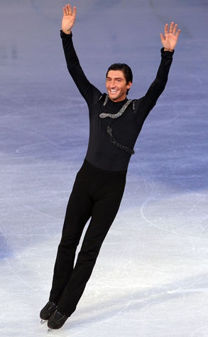 Evan Lysacek has won many figure skating championships including Olympic champion and SportsMan of the Year