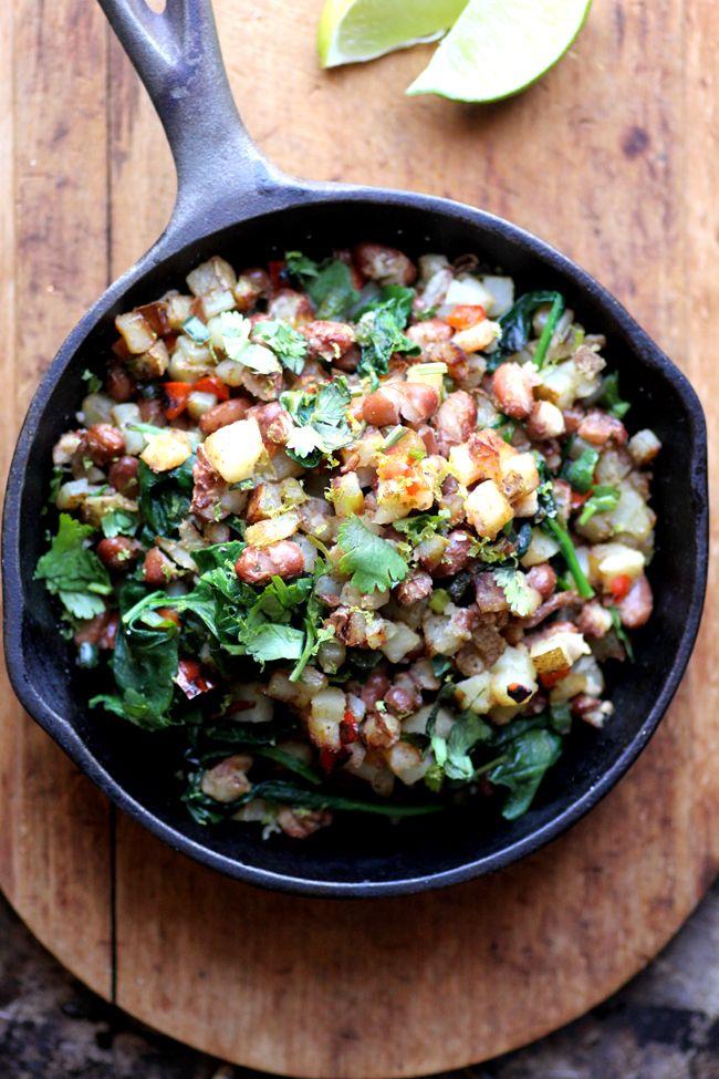 Potato, Pepper & PInto Hash (Gluten-Free & Vegan)--Made this tonight ...