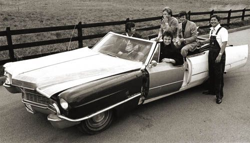 "Johnny Cash's ""One Piece at a Time"" Cadillac"