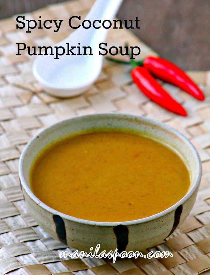 Spicy Pumpkin Soup Recipe With Coconut Milk Recipe — Dishmaps