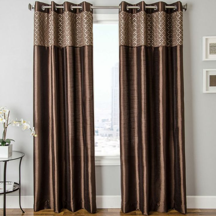 jcpenney - Guild Faux-Silk Grommet-Top Curtain Panel - jcpenney