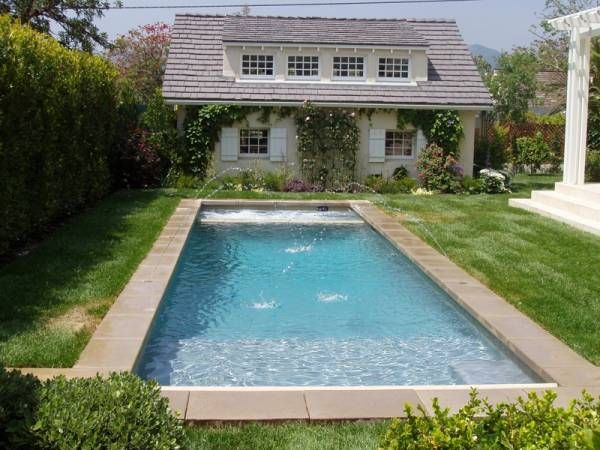 Pin by becky bean on pools pinterest for Pool design rectangular