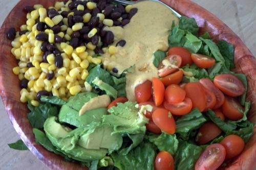 nacho salad | R... Nacho Salat