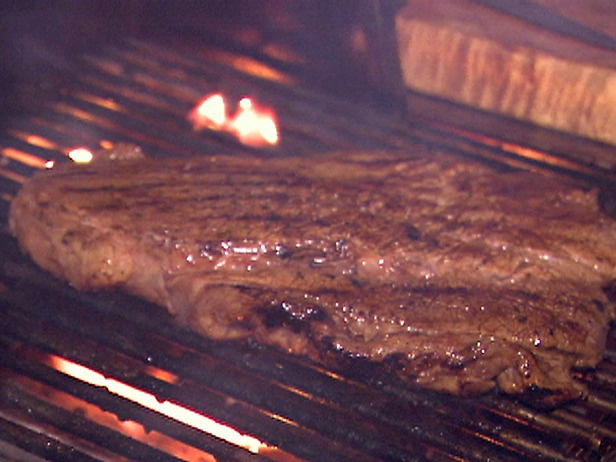 London Broil - recipe actually calls for rib eyes cooked with beer ...