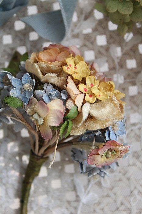 Vintage millinery flower