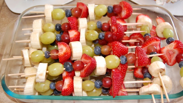 Fruity Fun Skewers Recipes — Dishmaps