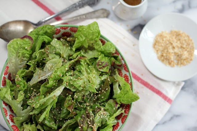 Blue Kale Road: Sesame Salad | Eat Your Veggies! | Pinterest