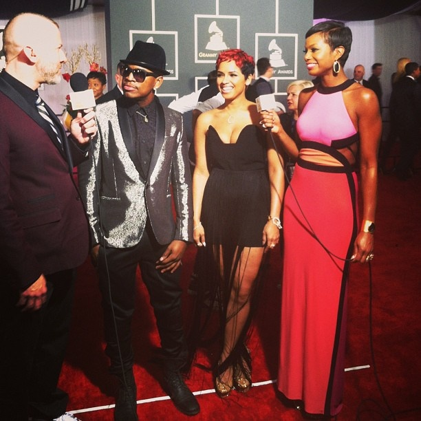 Ne-Yo and Ravaughn #GRAMMYs