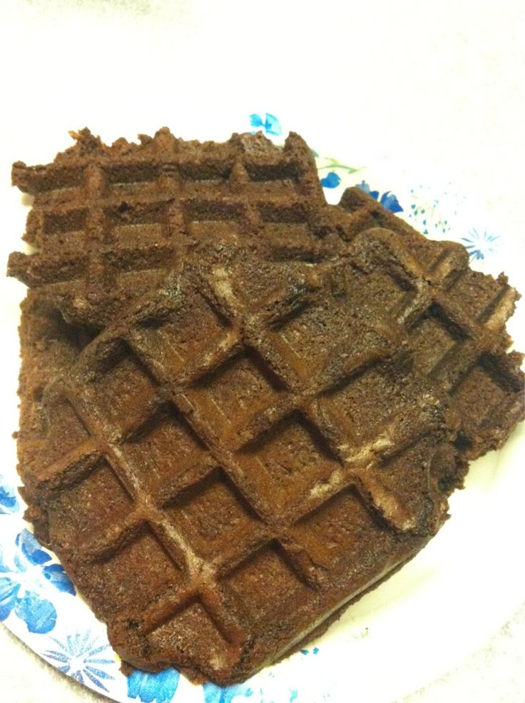How to Make Delicious Brownies with a Waffle Iron - holy mother of ...