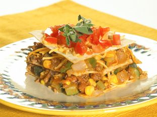 Mexican-Style Lasagna | Food for thought! | Pinterest