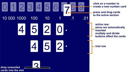 very visual ITP that demonstrates how digits move when we multiply ...