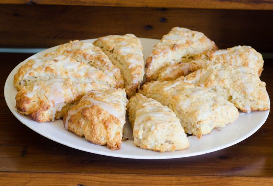 Pear, Ginger and Walnut Scones | My Recipes | Pinterest