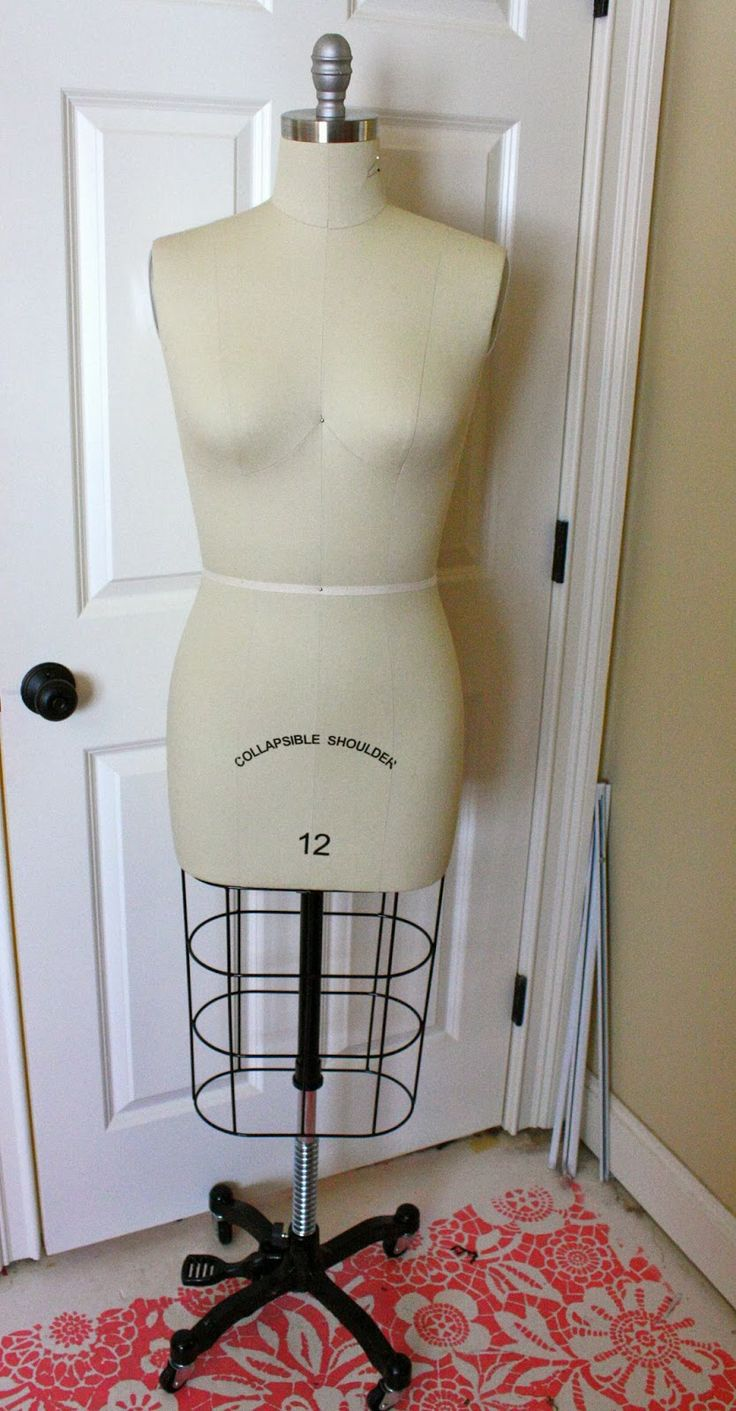 By claire sew incidentally on sewing dressform dress form dum