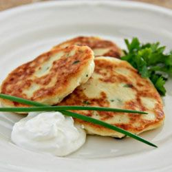 Easy Mashed Potato Pancakes | Ukrainian recipes | Pinterest