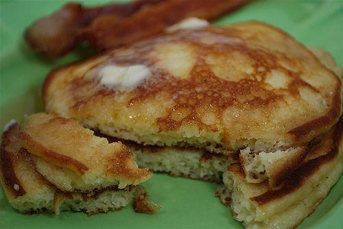 Edna Mae's Sour Cream Pancakes:Ree & Leigh(Anne)   Recipe
