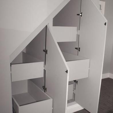 Under Stairs Closet Organisering Pinterest