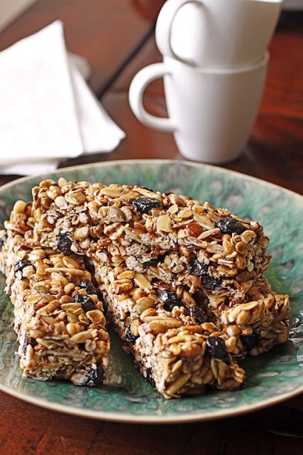 Blueberry-Pumpkin Seed Energy Bars | Food - Healthy Choices | Pintere ...