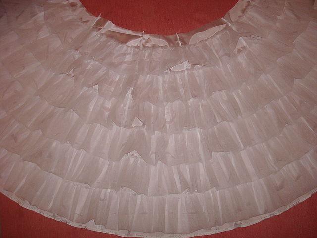 Сшить платье из капрона для девочки 13