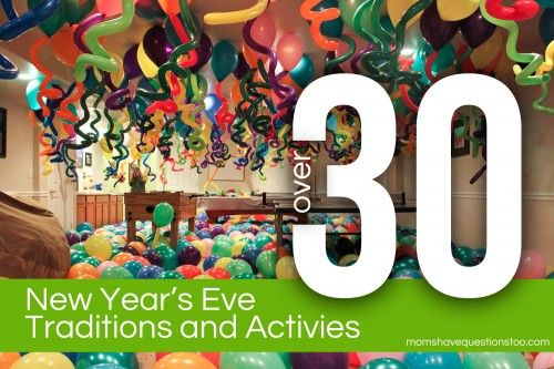 New Years Eve Balloon Party plus lots of other New Year