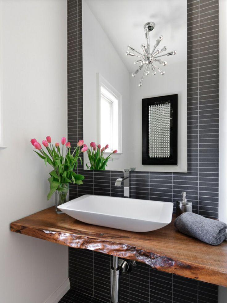 Rustic Modern Bath Architecture Pinterest
