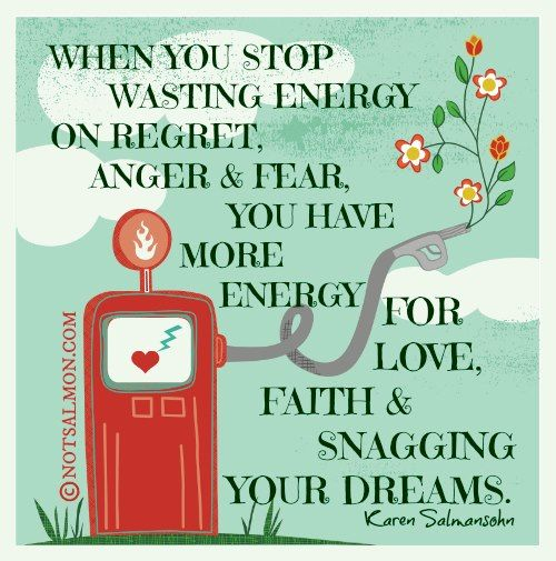 Stop wasting energy on negative things | Quotes