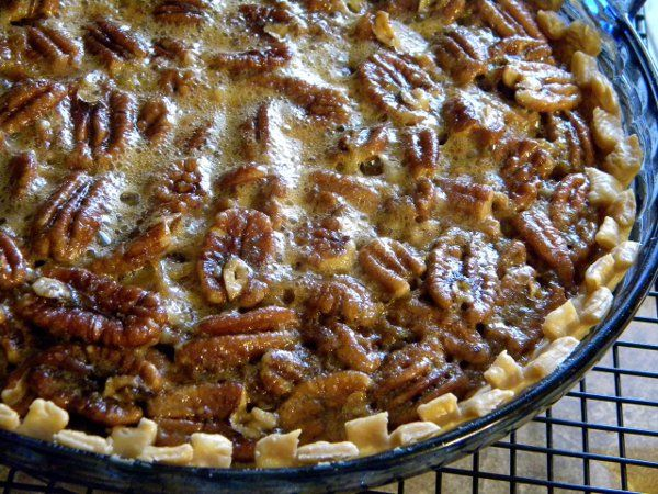 Browned Butter Pecan Pie Recipe | Desserts | Pinterest