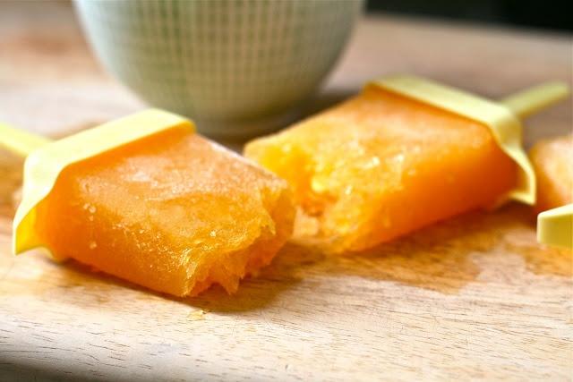 Nectarine And Strawberry Pops Recipe — Dishmaps